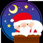 サンタクロースのクリスマスの魔法